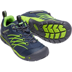 Keen Chandler CNX WP Shoes Youth dress blues/greenery